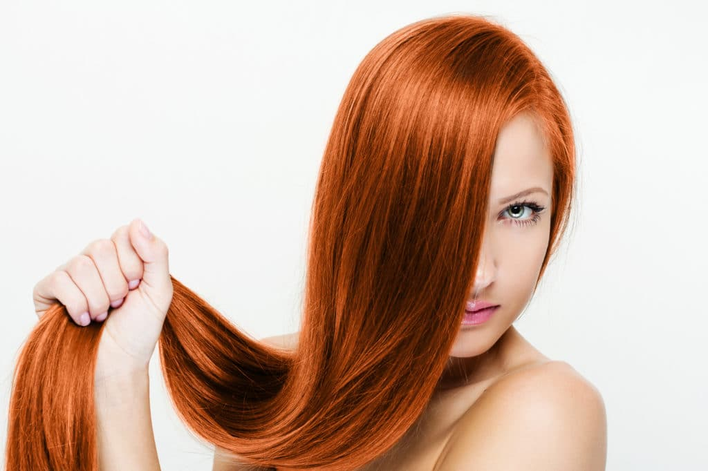 Как сделать волосы блестящими?