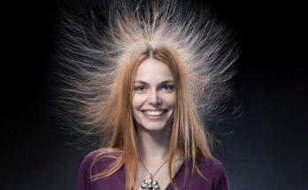 Наэлектризованные волосы. Как снять электричество с волос