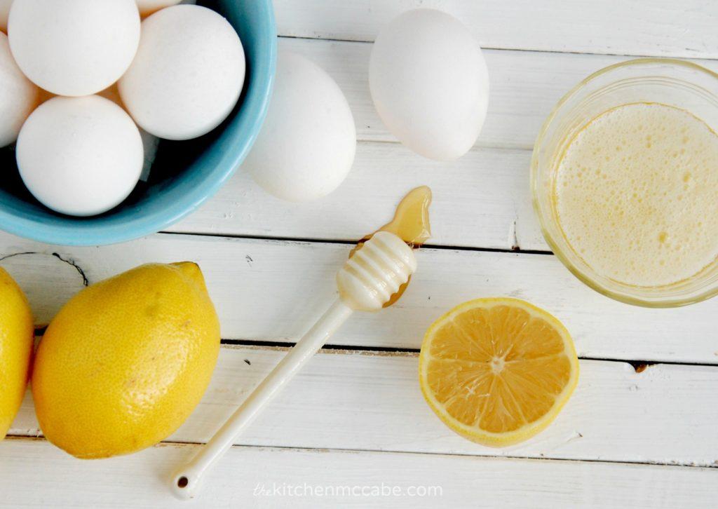 белково-лимонная маска