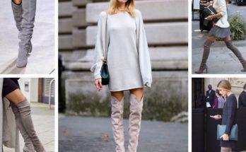 Ботфорты - рыцарская обувь современных женщин