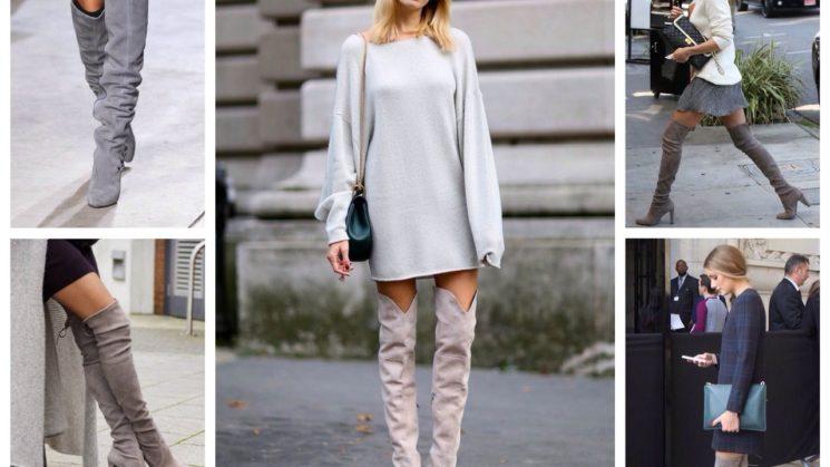 Ботфорты — рыцарская обувь современных женщин