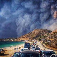 Пожар в Калифорнии: Ким Кардашьян, Белла Хадид и Леди Гага срочно покидают свои дома