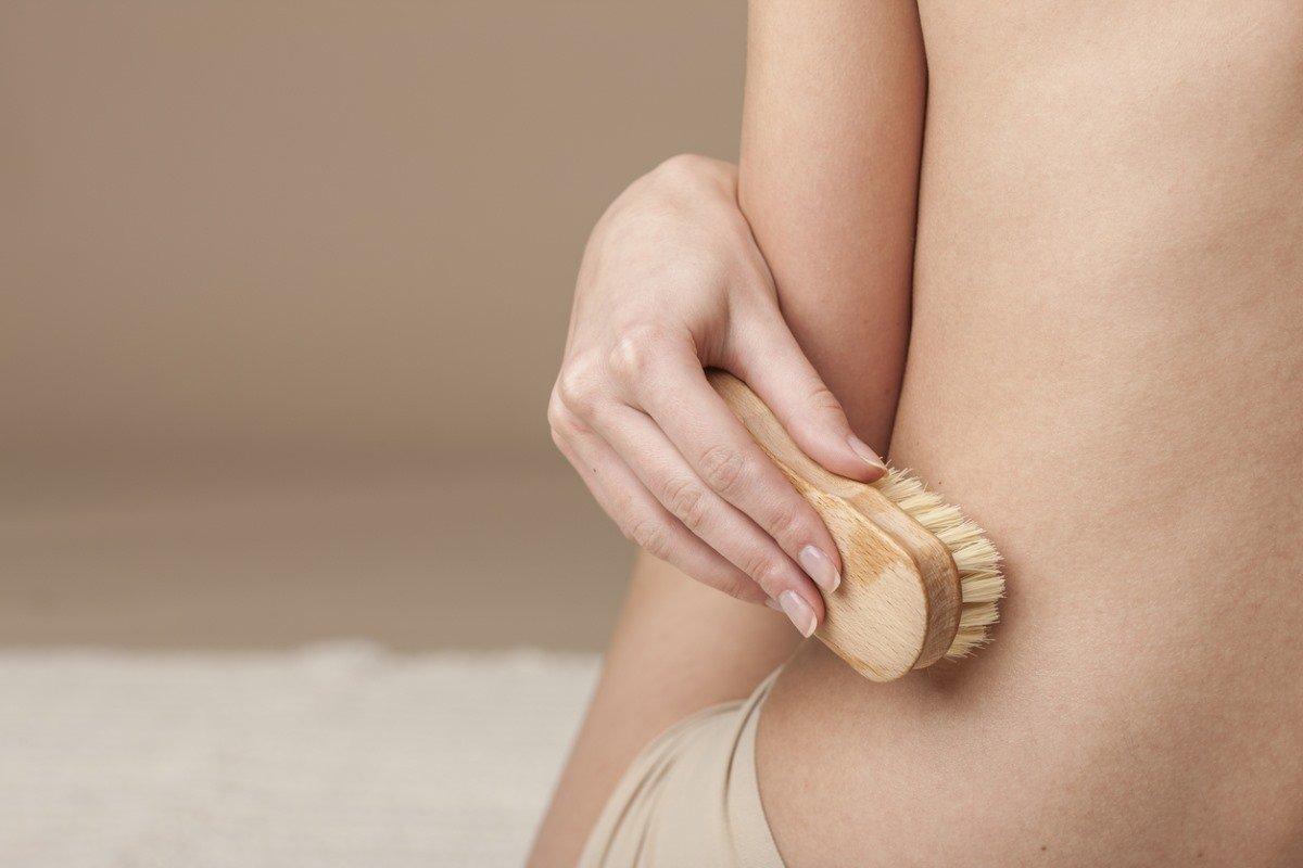 Сухой массаж