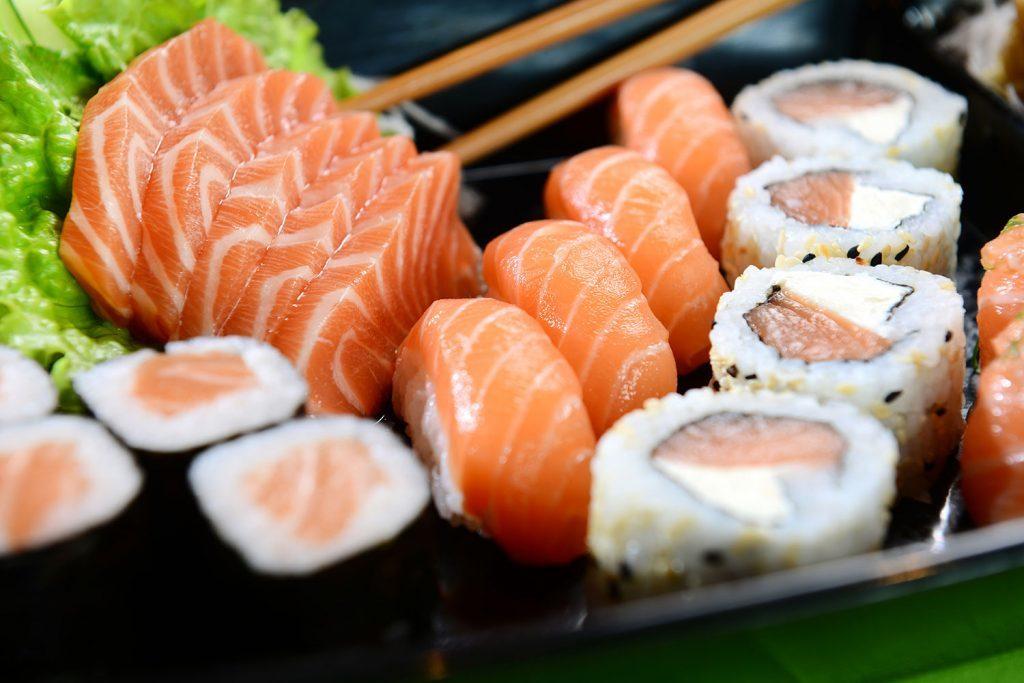 блюда с лососем