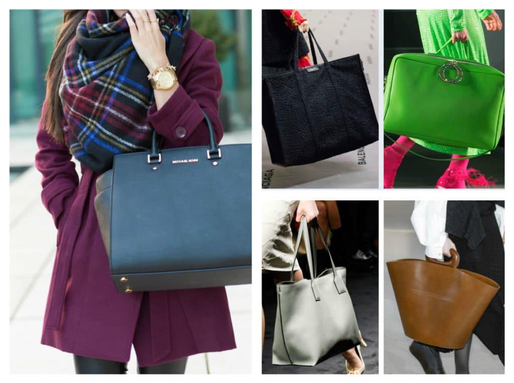модные женские сумки осень зима