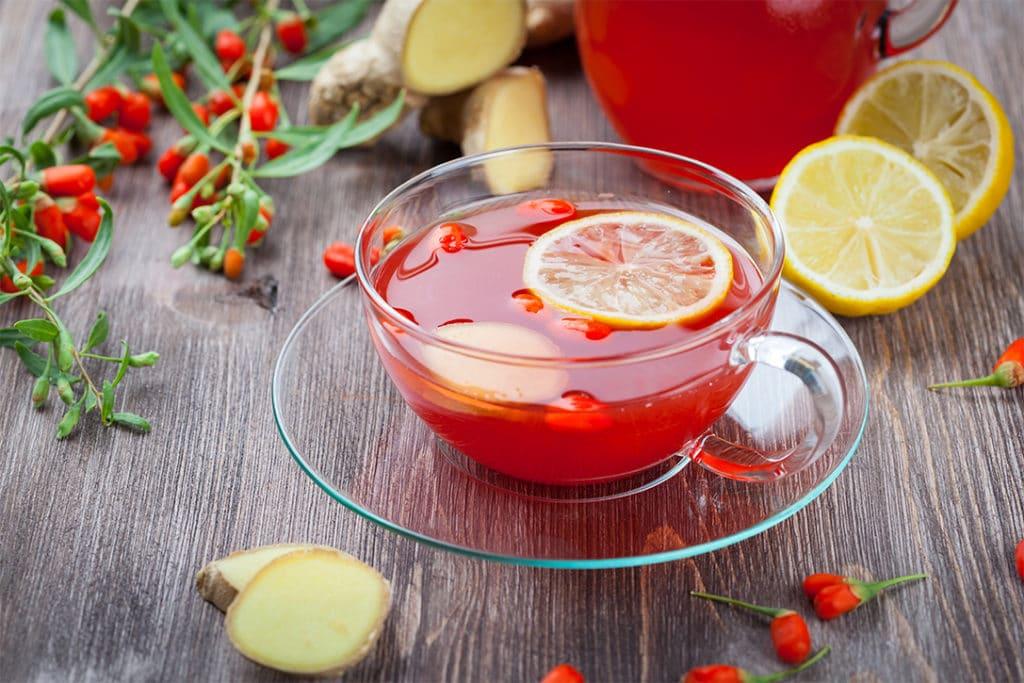 настойка из ягод годжи