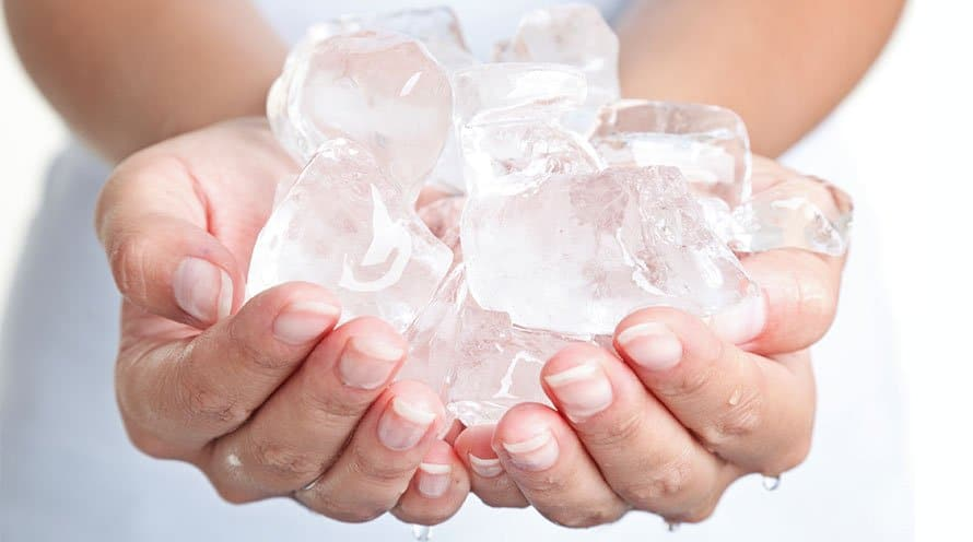 лечащий лед для вашей красоты