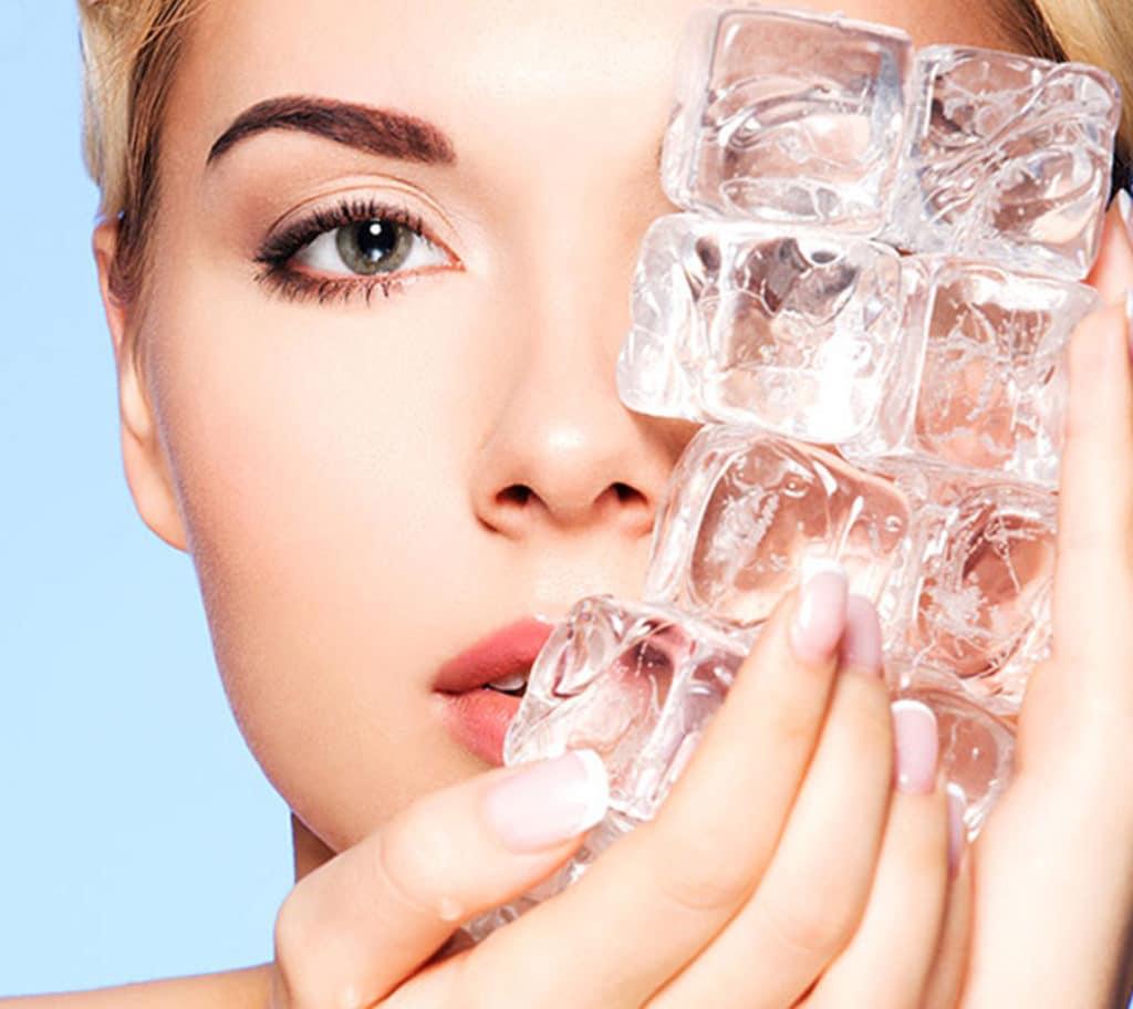 лед в косметологии