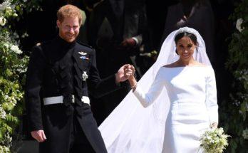 Самые эффектные свадебные платья завершившегося года