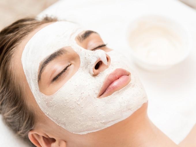 творожная маска для лица