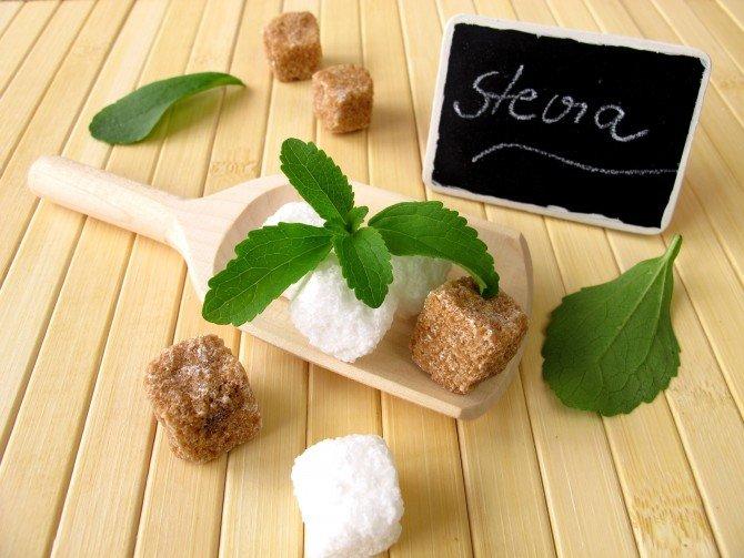 заменители сахара стевия