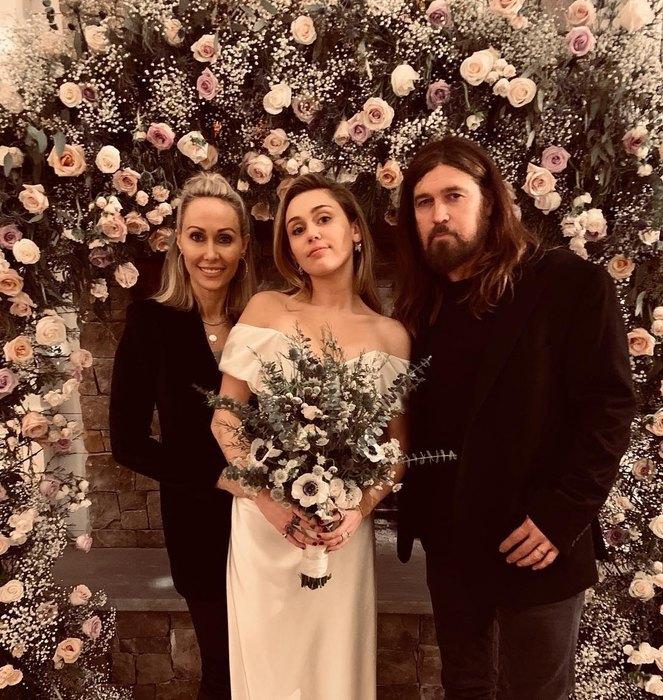 свадьба Майли Сайрус
