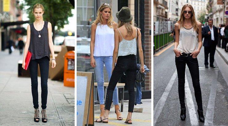 5 модных лайфхаков Узкие брюки