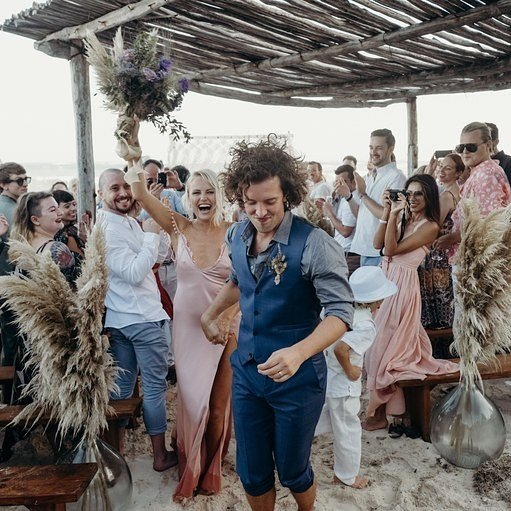 свадьба Малин Акерман