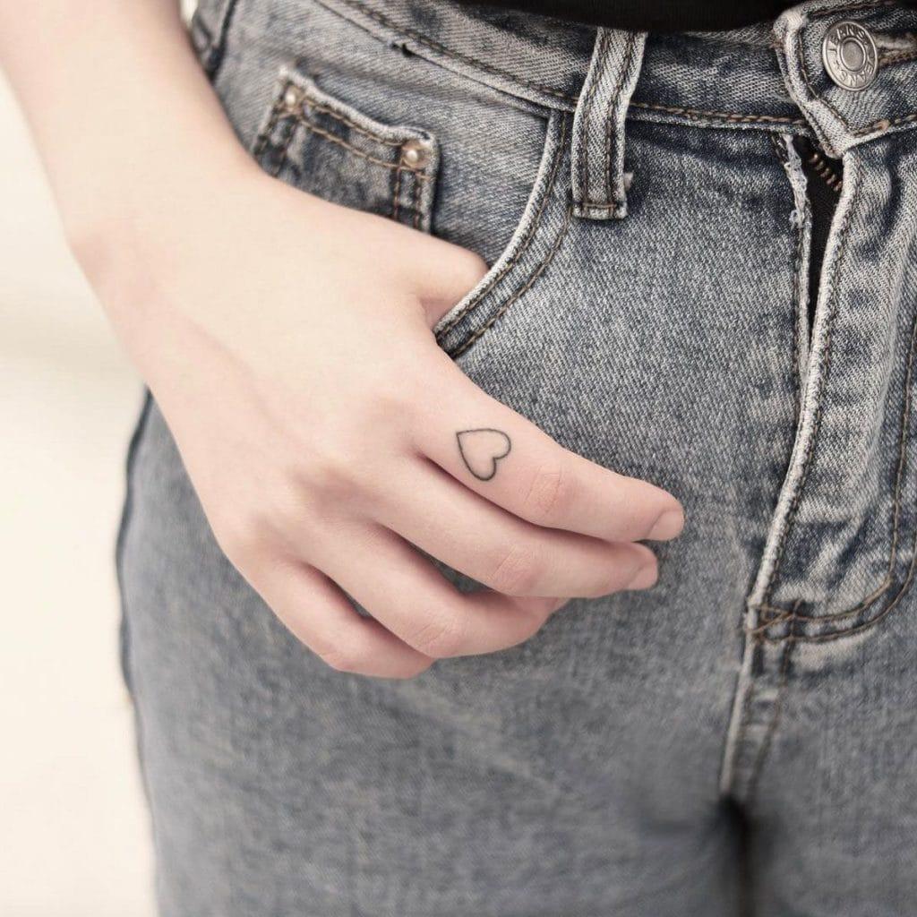идеи для маленьких татуировок сердце