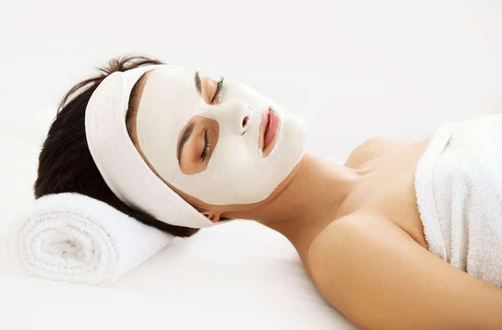 как нанести ночную маску для лица