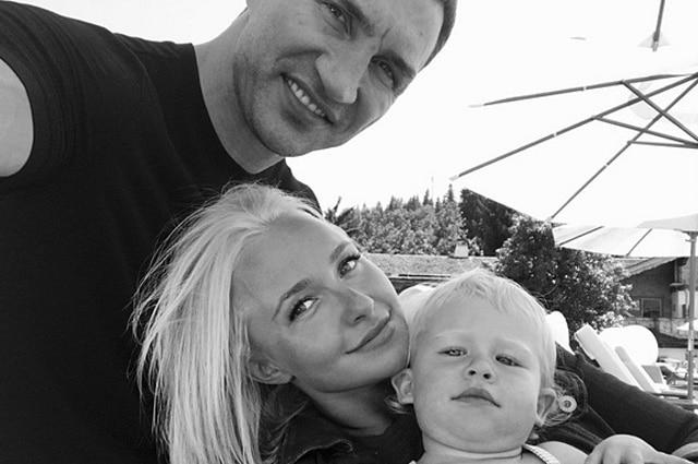 Владимир Кличко забрал 4-летнюю дочь в Киев после разрыва с Хайден Панеттьери
