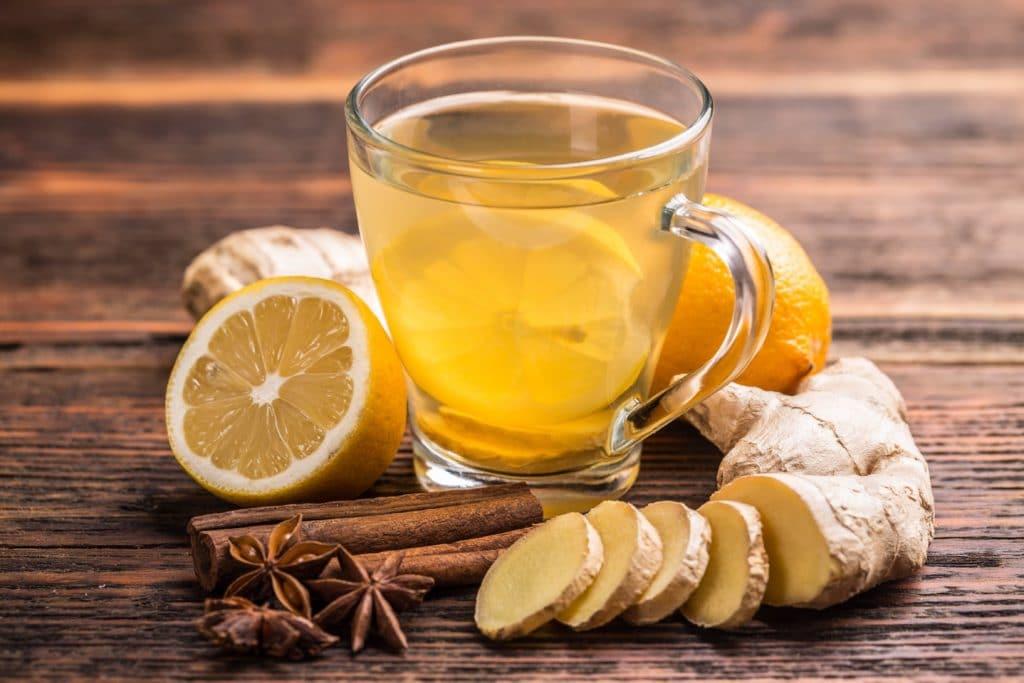 имбирь чай рецепт