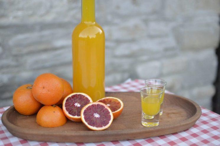 Калорийность апельсинового ликера