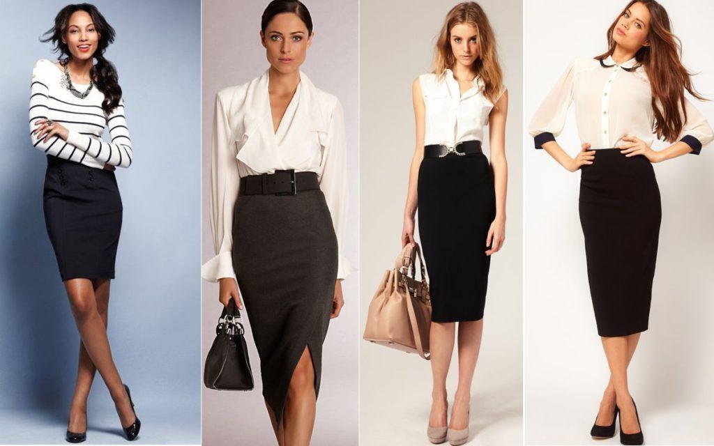 Business woman юбка-карандаш