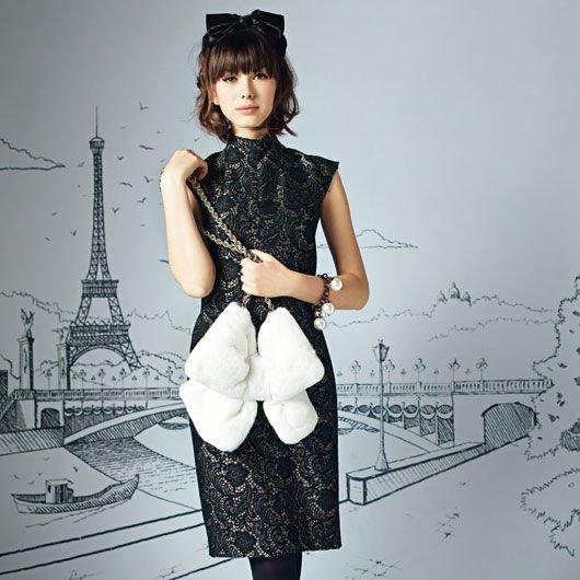 французская весна платье