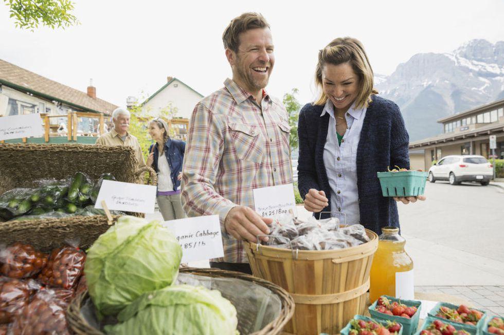 идея для свидания фермерский рынок
