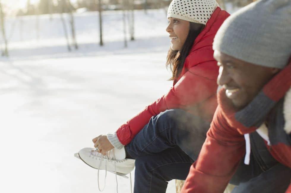 идея для свидания покататься на коньках