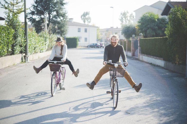 идея для свидания кататься на велосипедах