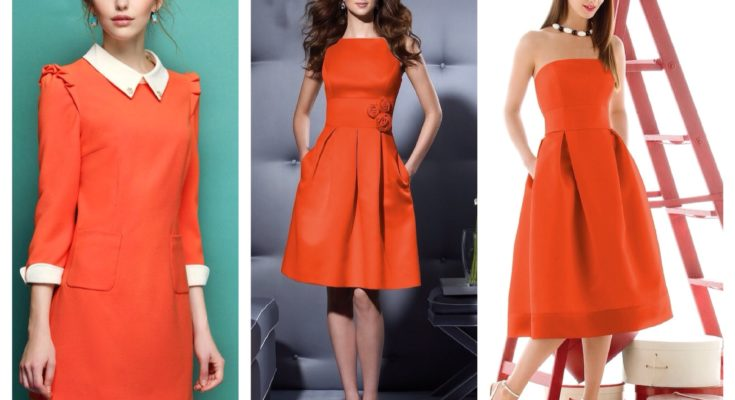 Оранжевый - цвет приходящей весны!