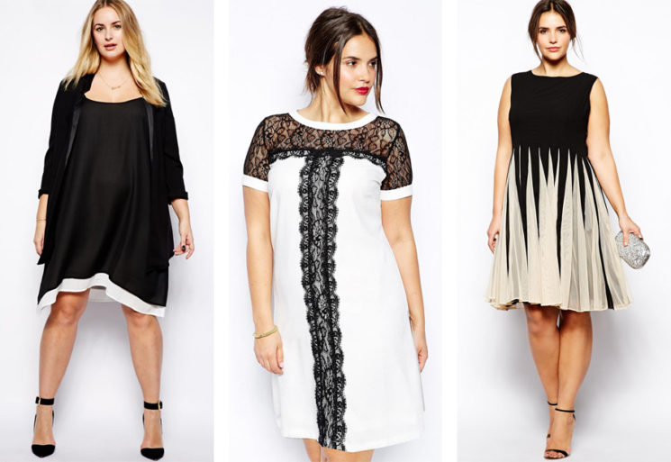 Платье для полных