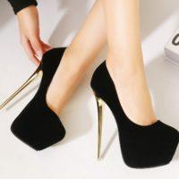 Модные туфли на высоком каблуке. Фотоподборка