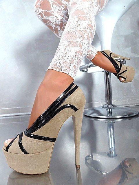 модные свадебные туфли