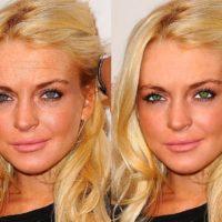 Звезды до и после обработки фотошопом фото
