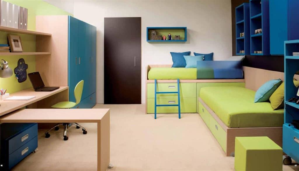 Дизайн детской комнаты для близнецов