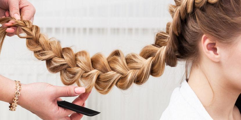 Как заплести красивую косу 5 прядей