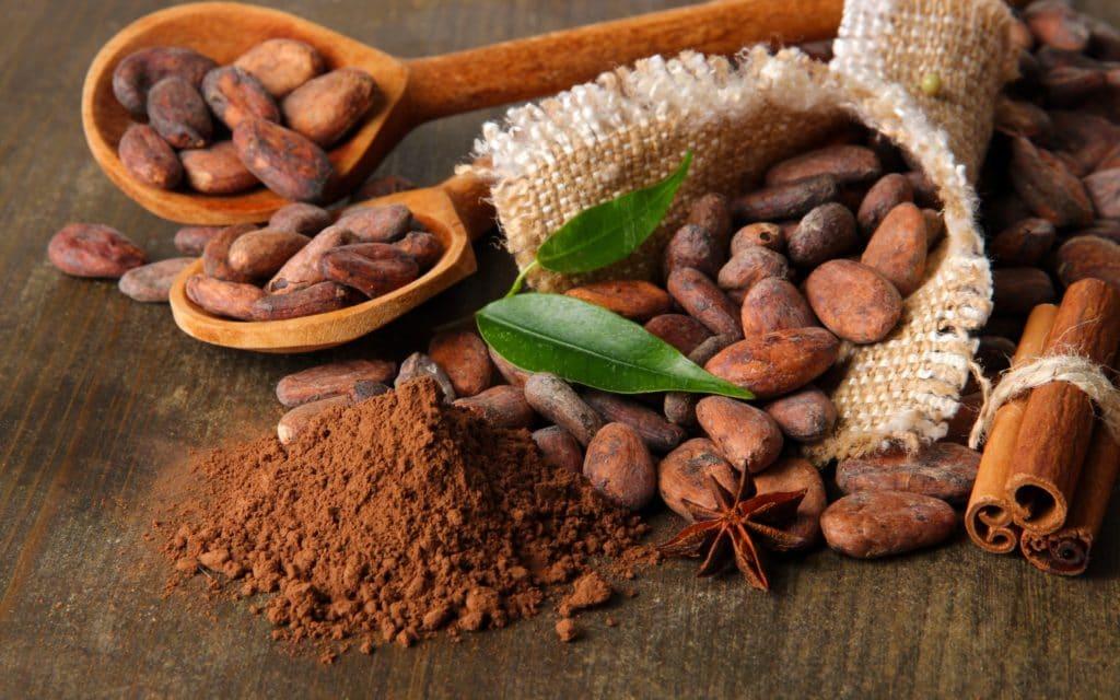Какао калорийность