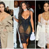 Самые сексуальные селфи Ким Кардашьян ( 25 фото )