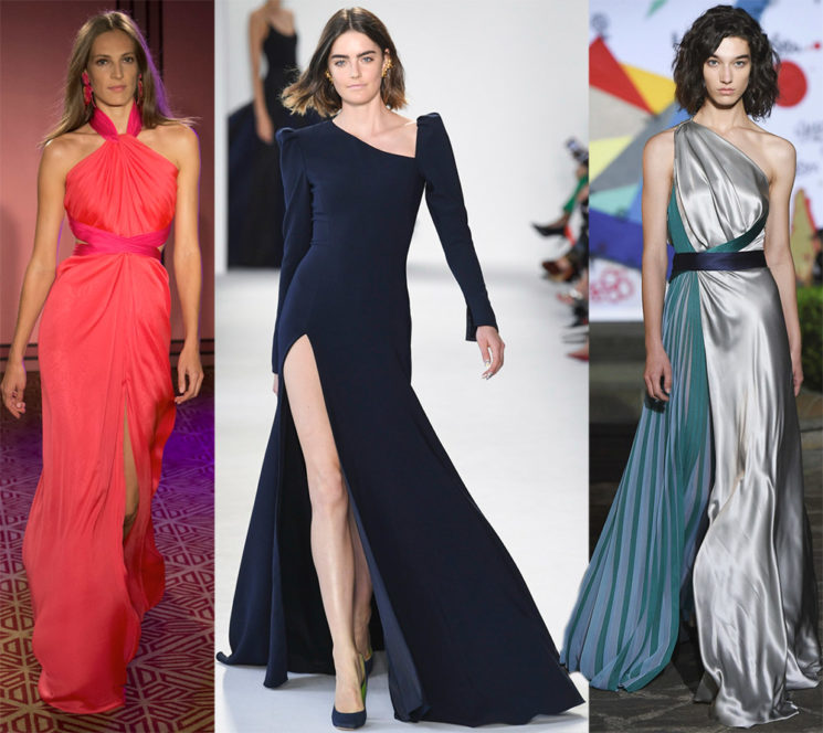Вечерние длинные платья: как выбрать, куда надеть Фото