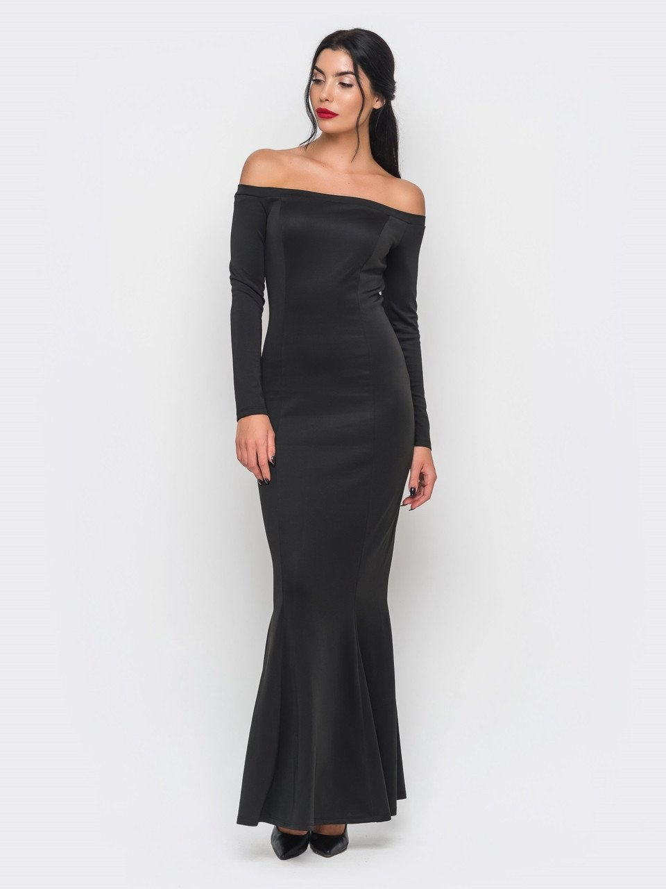 облегающее вечернее платье