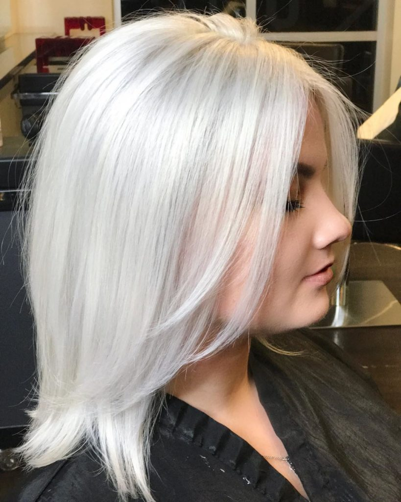 Цвет волос маршмеллоу