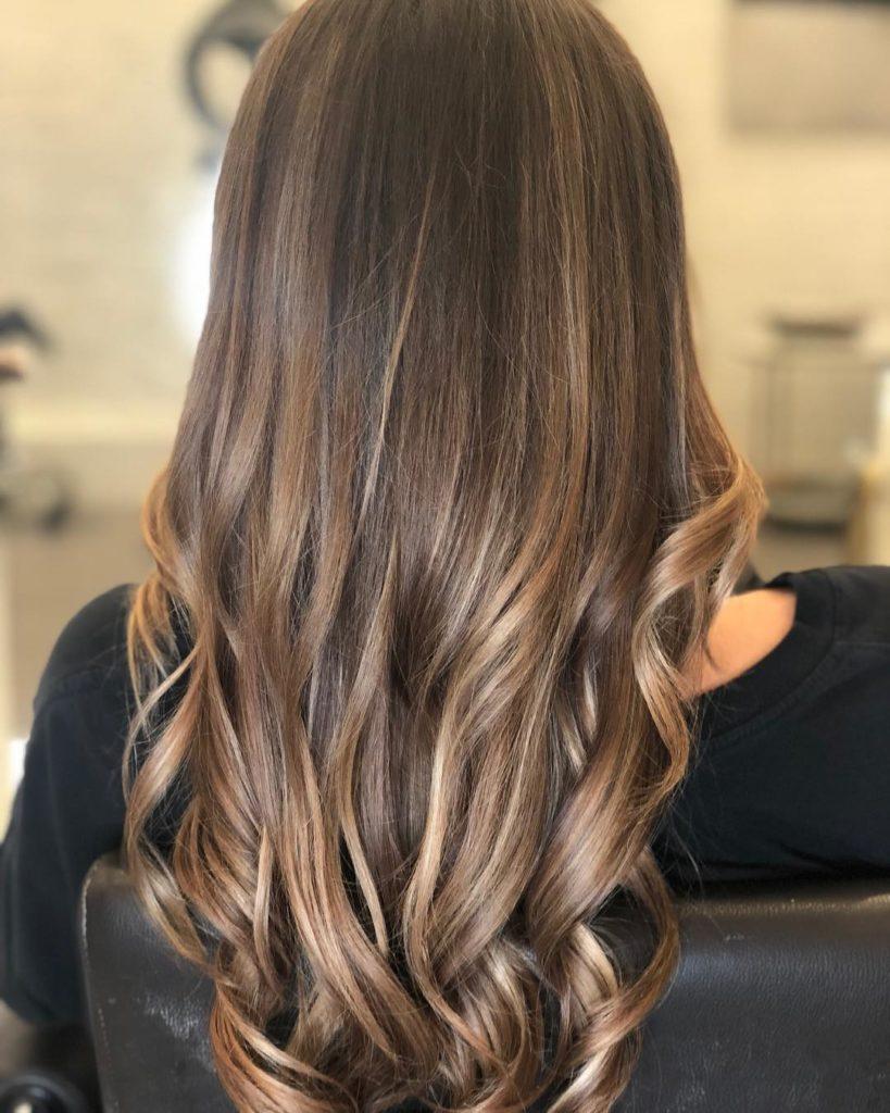 Цвет волос кофе