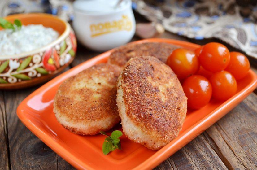 Рецепт куриных котлет с сыром и перцем