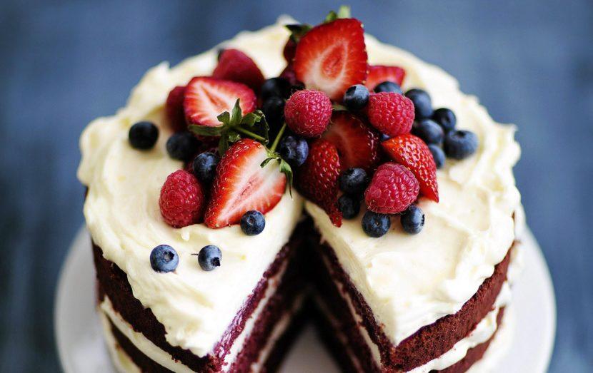 Рецепт приготовления торта с белым шоколадом