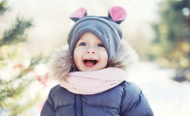 Как одевать малыша на зимнюю прогулку?
