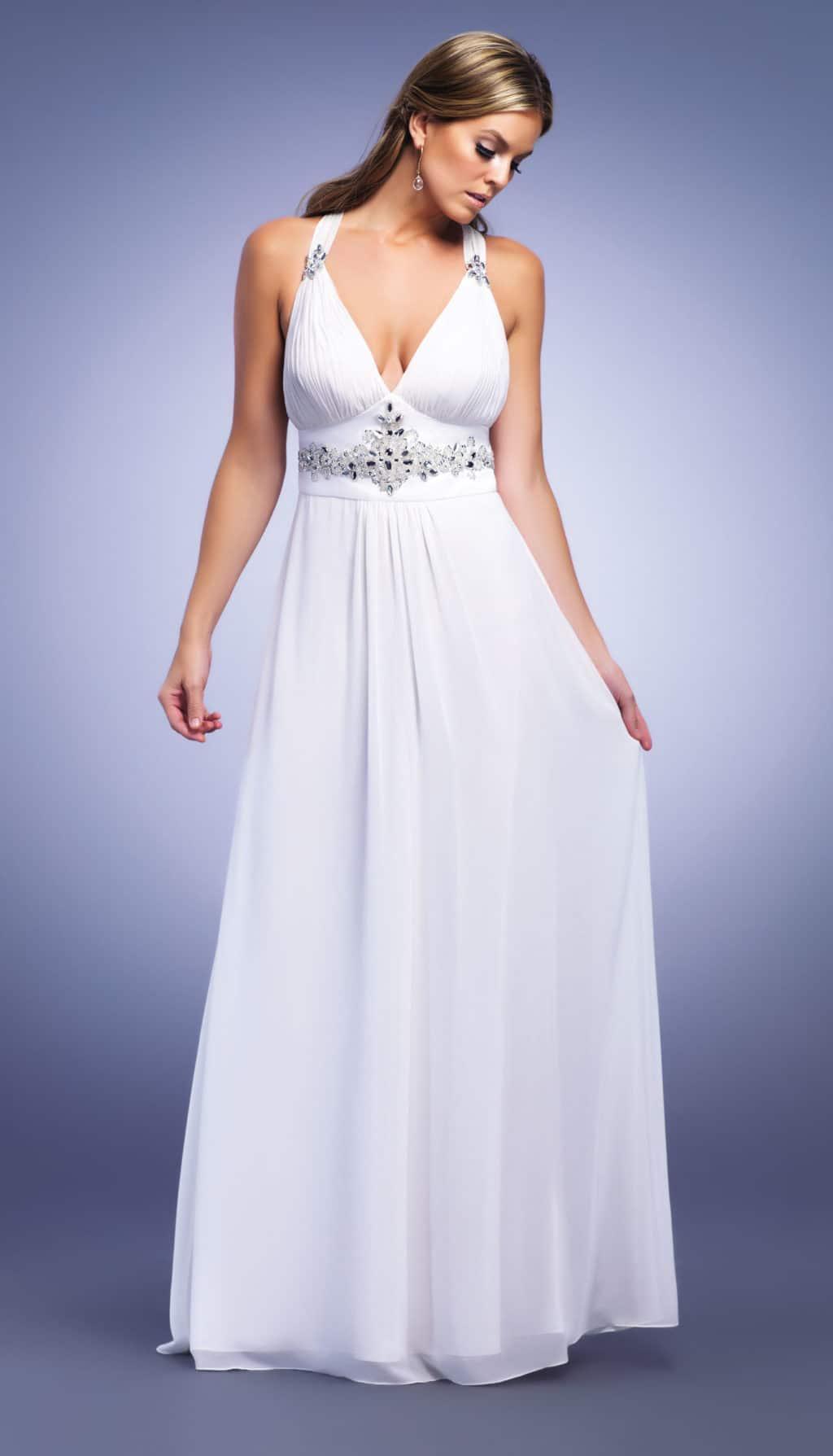 белое платье в греческом стиле