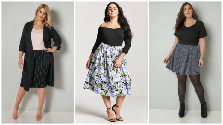 Модная одежда на широкие бедра