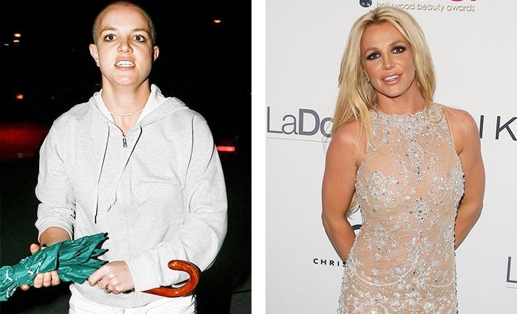 Бритни Спирс фото до и после алкогольной завимисоти