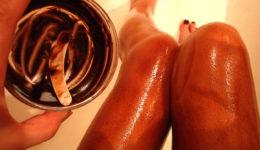 Шоколадная ванна для ног