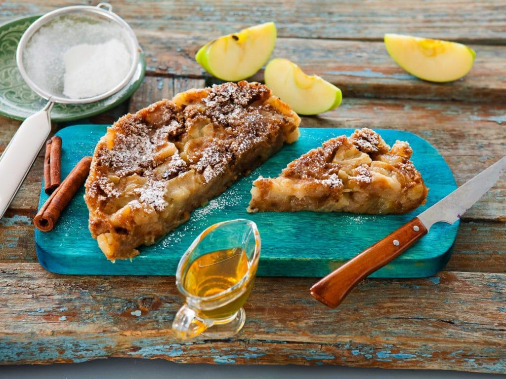 Рецепт пудинга из чёрствого хлеба