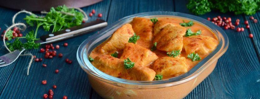Рецепт индейки с ананасовым соусом